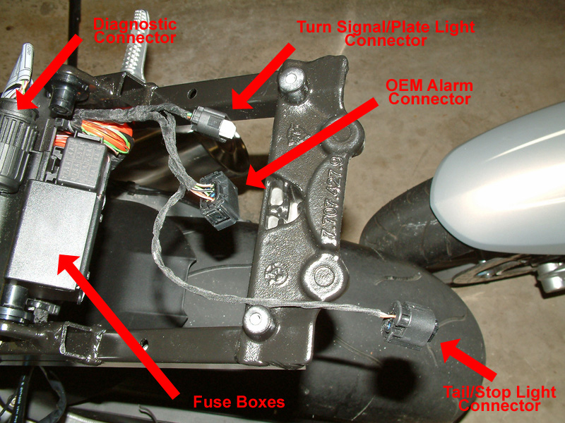 1 Bare Tail scorpio alarm project done bmw s1000rr forums bmw sportbike forum  at n-0.co